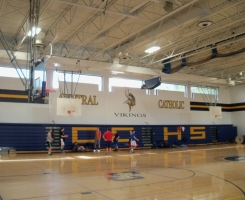 Interior Gymnasium Painting