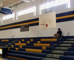 Interior Pittsburgh Gymnasium Painting
