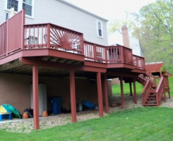 Residential Deck Painting